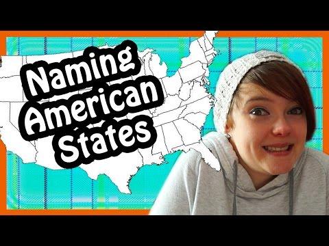 Naming American States - Scotland Edition