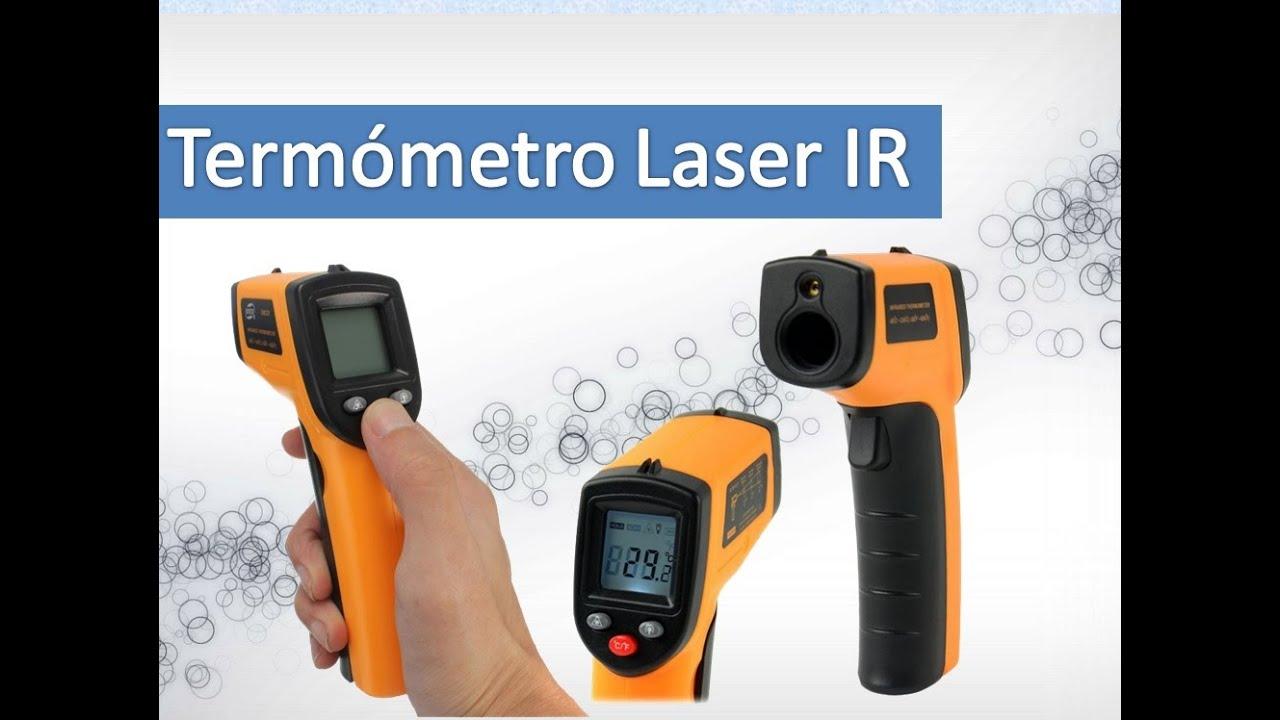 Medidor de temperatura laser precio us 13 dolares youtube - Medidor de temperatura ...