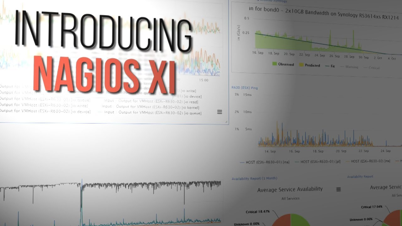 Nagios XI - Easy Network, Server Monitoring and Alerting