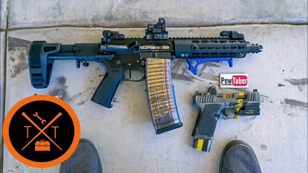 Aero Precision AR Pistol Build Review!