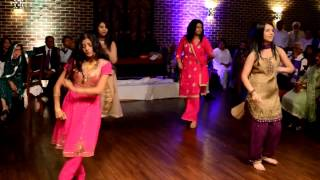 """Sisters of the bride Indian/Pakistani Wedding Dance to Lil Wayne's """"No Worries"""""""