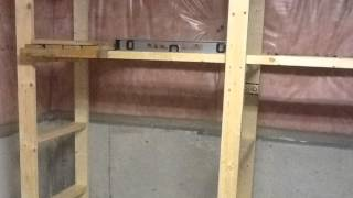 How To Make Storage Shelf In Basement