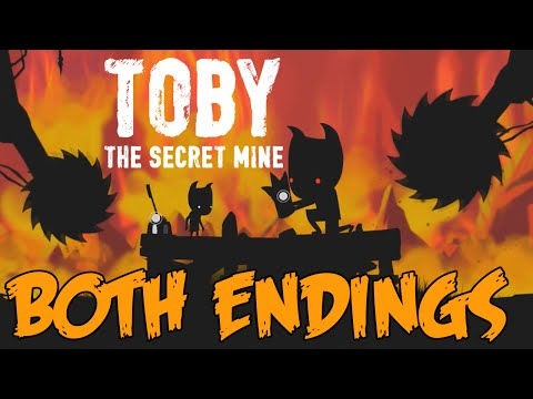 Toby: The Secret Mine - All Endings
