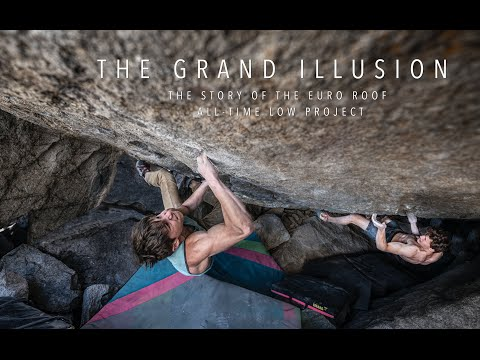 The Grand Illusion - Font 8C+ First Ascent