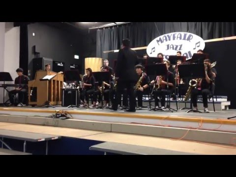 "Bellflower High School Jazz Band Performing ""Picking Up The Pieces"" by "" The Average White Band""."