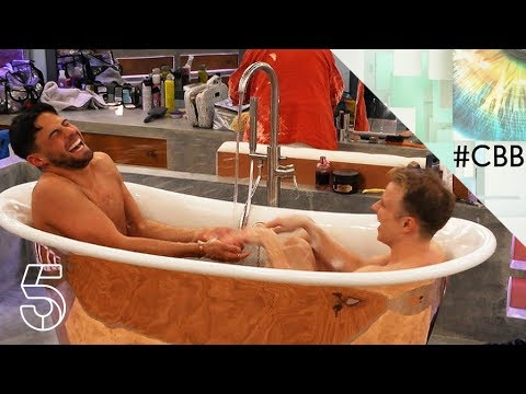 Bath time with Andrew and Shane | Day 10 | Celebrity Big Brother 2018