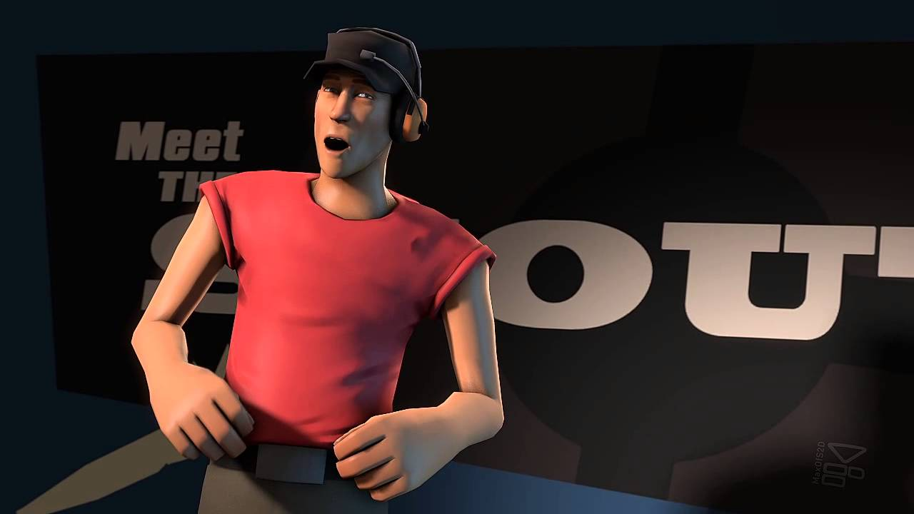 team fortress 2 meet the scout outtakes restaurant