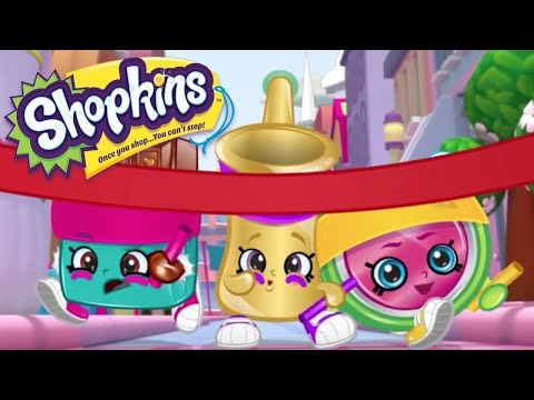 NEW 2021! - SHOPKINS Cartoon - RACE TO THE FINISH | Videos For Kids