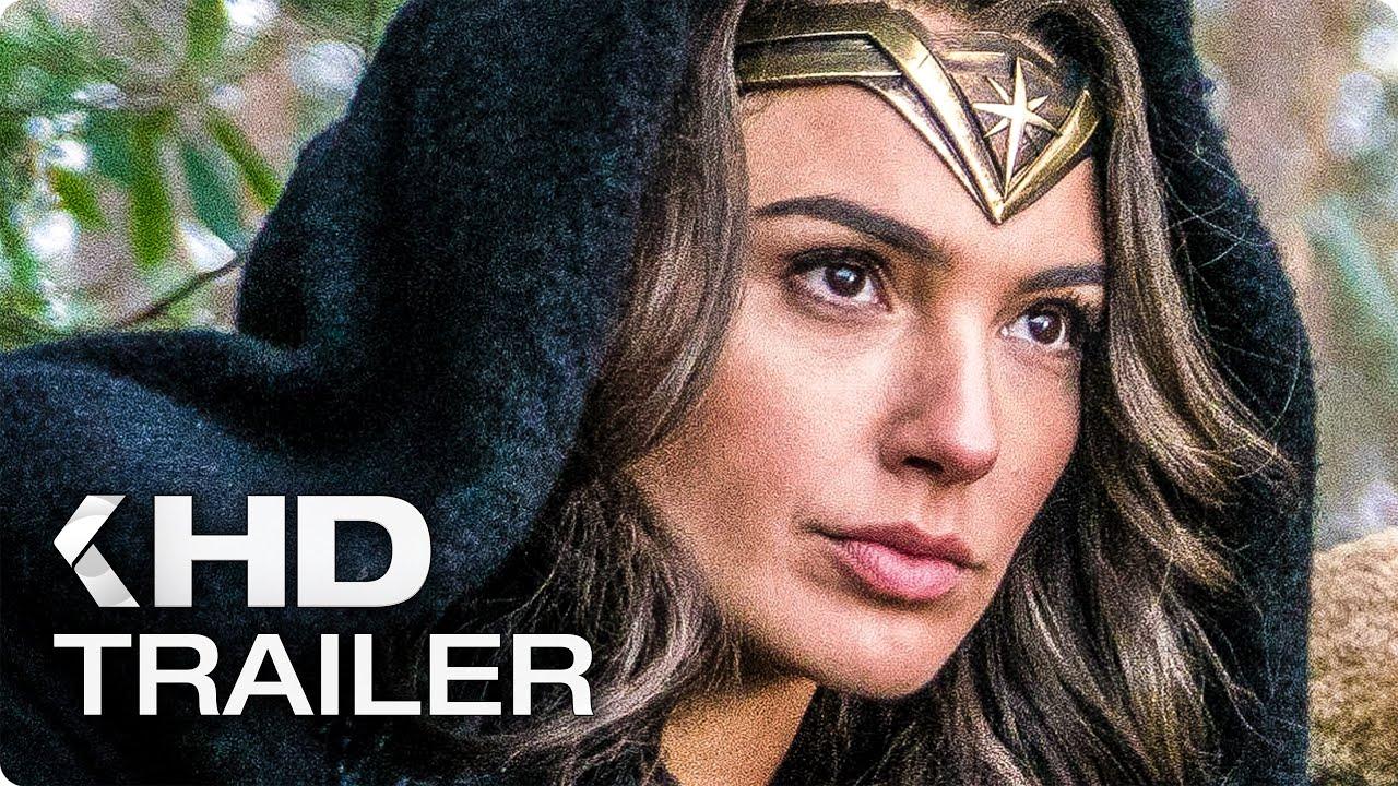 WONDER WOMAN ALL Trailer & Clips (2017)