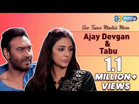 Ajay Devgan & Tabu | Drishyam |  See Taare Mastiii Mein (Episode 36)