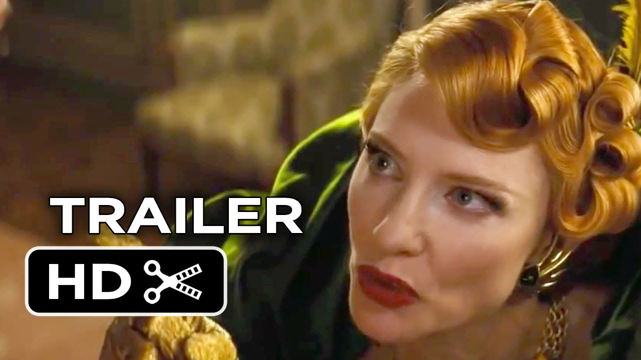 Cinderella Official Trailer #3 (2015) - Lily James, Cate ... Cate Blanchett Movies