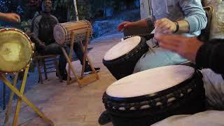 Session répétition djembé percussions africaines - Cie Sokawa