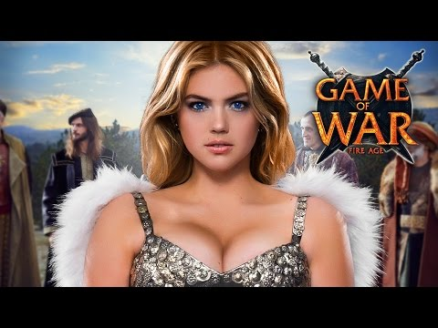 Game of War Strategy MMO: Short Live Action Trailer - EMPIRE ft. Kate Upton Short