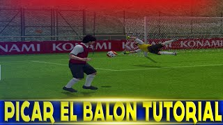 Tutorial Picar Balon al Portero pes ps2