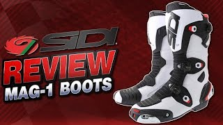 Sidi Mag-1 Boot Review from SportbikeTrackGear.com