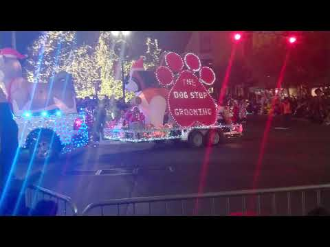Celebration of lights in El Paso Texas 2017