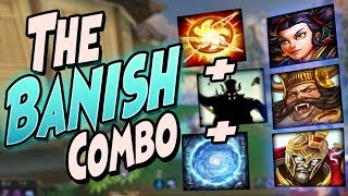 Smite: THE BANISH COMBO - Joust 3v3 - THE MOST GRIPPING GAME!