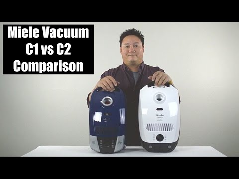 Miele C1 vs C2 Vacuum Review - Comparison & Highlights