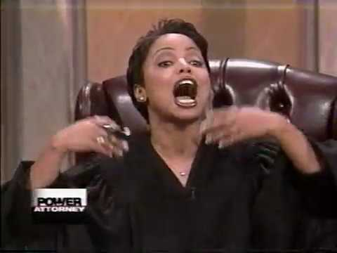 YOUNG JUDGE LIN TOLER GOES OFF...DUDE KEPT RUNNIN' HIS MOUTH...HE GO LEARN TODAY!!!