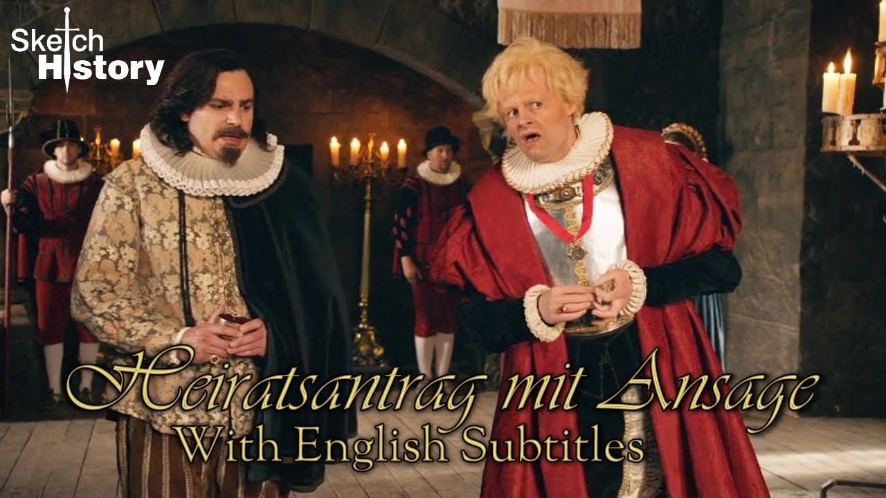 Heiratsantrag English