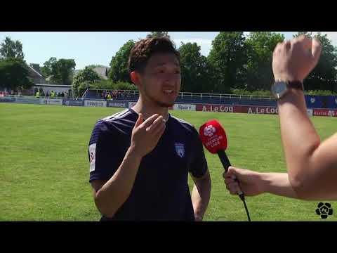 15. voor 2019: Maardu Linnameeskond - Tallinna FC Flora 3:8 (0:3) Amemiya intervjuu