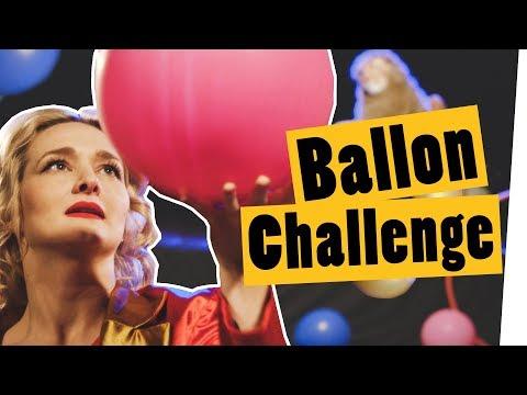 """Challenge: BALLON CHALLENGE im Zirkus    """"Das schaffst du nie!"""""""