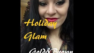 Holiday Glam | Gold&Brown Thumbnail