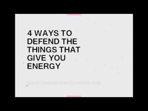 4 Ways To Manage Your Energy As An Introvert | Charge Up