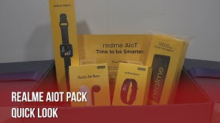 Quick Look at realme AIoT Pack: Wearables Galore!