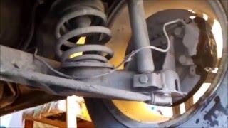 видео Как самостоятельно установить дисковые задние тормоза на ланос