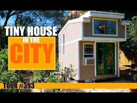 Urban Tiny House Dwelling in St. Louis (with hidden bathtub!)