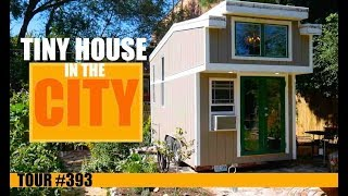 Urban Tiny House Dwelling In St. Louis With Hidden Bathtub!
