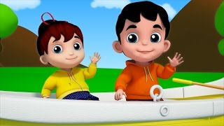 Junior Squad | Kids Nursery Rhymes - Row Row Row Your Boat | Videos For Kids | Jr.Squad Kids Tv
