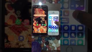 Speed test between SAMSUNG j7 nxt vs APPLE 5s