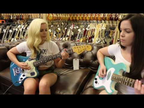 The Surfrajettes stops by Norman's Rare Guitars