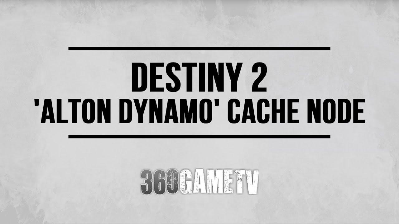 Destiny 2 Alton Dynamo Cache Node Location (Nascent Dawn 5/5 Weekly Quest Step Polaris Lance)