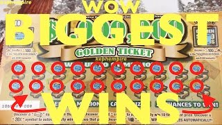 MY BIGGEST AND BEST WINS SO FAR PLAYING LOTTO SCRATCHERS - Updated January 15th 2017