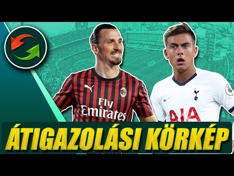 Ibrahimovic egyre közelebb a Milanhoz! Mourinho Dybalát akarja!