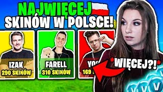 LUURE HAT DIE MOST SKINS IN FORTNITE IN POLEN?! 🇵🇱 😅 * WIE VIEL IST ES FREIGEGEBEN? * (ENTRY TO ACCOUNT: LUURE)