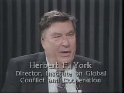 Conversations with History:  Herbert F. York