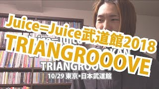 '18.10.29J=J武道館【Met現場レポ】Juice=Juice LIVE 2018 at NIPPON BUDOKAN TRIANGROOOVE