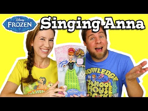 Disney Frozen Singing Anna Doll