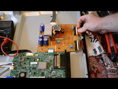 видео: Ремонт плазменного телевизора samsung ps43d490a1w типовая неисправность