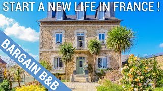 Successful 6-bed B&B in Brittany - perfect to start a new life in France - Ref.: 98966LRE22