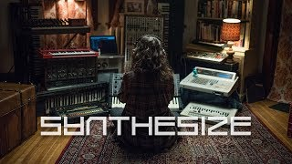 SYNTHESIZE: An analog love story // Short Film by Matthew Edison feat. Synths When