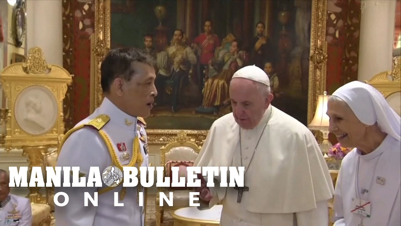 Pope Francis meets Thai King Rama X