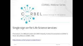 Single sign-on for Life Science services