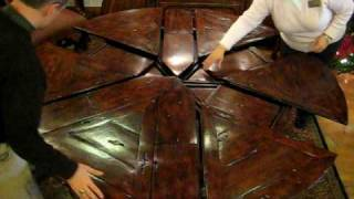 Pine Tree Barn Cool Dining Table.avi