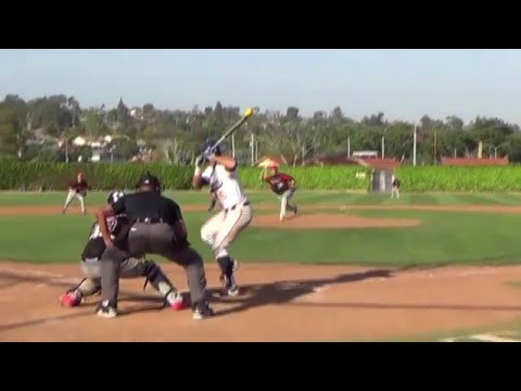 Fullerton College Baseball: David Miranda Walkoff vs Santa Ana College -3-15-16