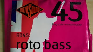 Cheap, old bass strings VS new Roto Bass RB45 Strings
